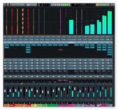 Cubase 8 - MixConsole Wave Meter