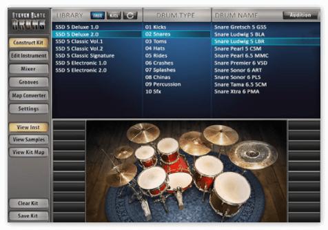 Drum sampling deluxe