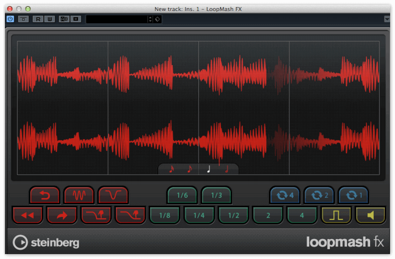 LoopMash в Cubase 5