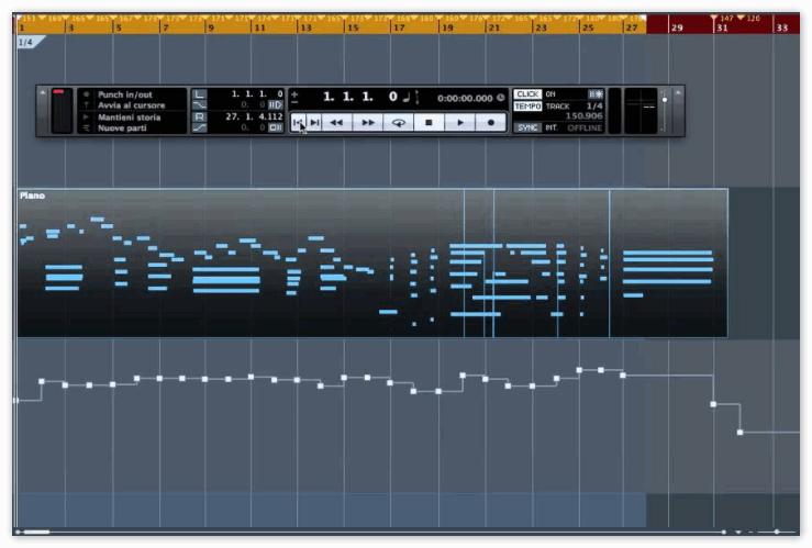 MIDI Tempo Detection в Cubase Artist