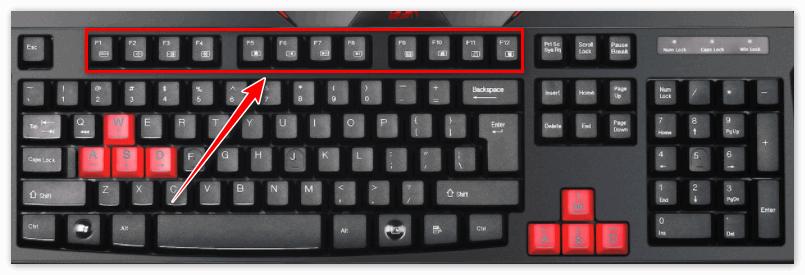 Набор клавиш F на клавиатуре