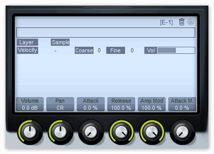 Окно Е-1 в Groove Cubase.png