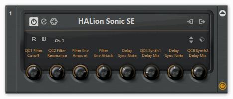 Окно HALion Sonic SE в Кубейс