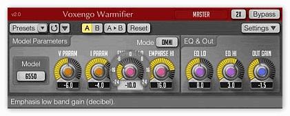 Плагин Voxengo - Warmifier 2