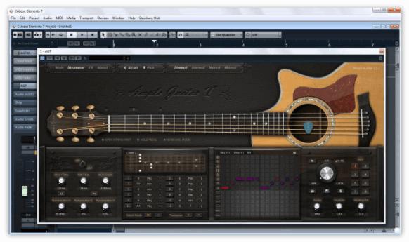 Запись гитары в Кубейс